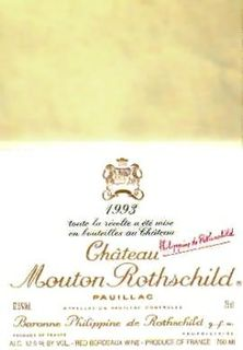 Chateau Mouton Rothschild 1993 US