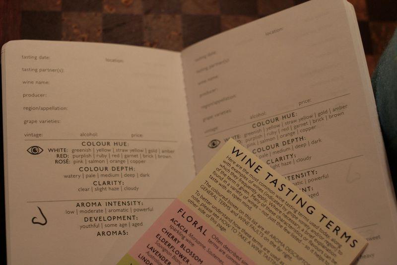 Wine Tasting Note Book