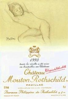 Chateau Mouton Rothschild 1993 Original