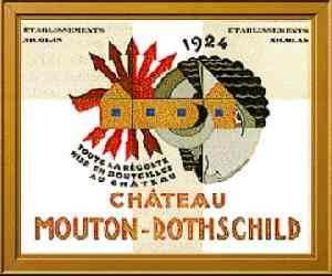 Chateau Mouton Rothschild 1924