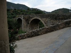 2000 Yr Old Roman Bridge Outside Lo Givot Winery